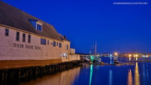 Gloucester At Dawn- Beacon Marine Basin 4:56AM 4/26/12 by captjoe06