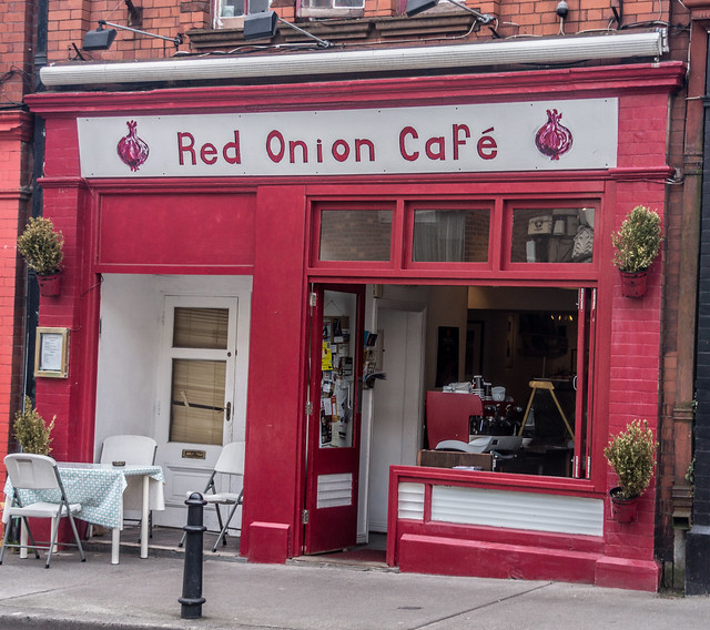 red onion cafe dun laoghaire flickr photo sharing