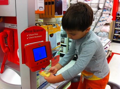 Scanning at Target
