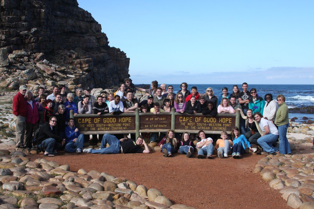 Northern Arizona University's Shrine of the Ages Choir and the Master Chorale of Flagstaff at the Cape of Good Hope