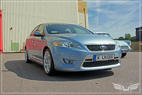 The Establishing Shot: Ford Centenary Tour - James Bond's Ford Mondeo rental from Casino Royale 2007 at Elstree Studios by Craig Grobler
