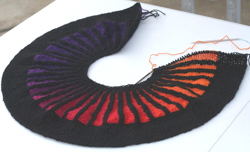 Spectra Scarf WIP