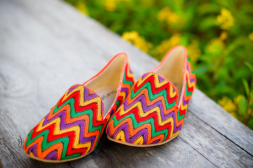 Mimi Rainbow Color Flats