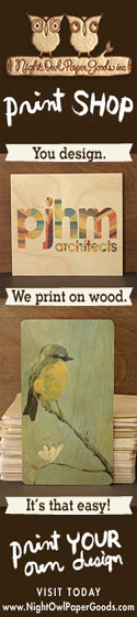 Print Your Own Design on Wood