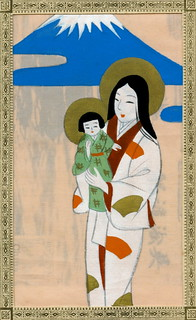 Japanese Madonna and Child 1930s