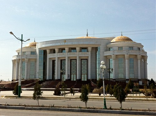 Theater in Turkmenabat