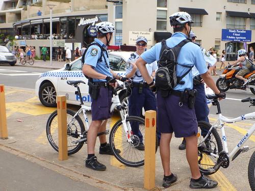 NSW Mountain Bike Police