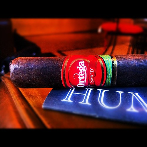 My first Ortega Serie D by @eddieor via @humidormuse