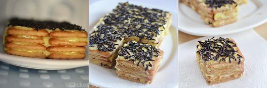 Biscuit Custard Pudding Recipe