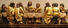 """""""The Last Supper"""" - museum copy of Master Paul's sculpture, originally under the main altar in St. Jacob's basilica in Levoča. http://commons.wikimedia.org/wiki/File:Levoca_Last_Supper.jpg"""