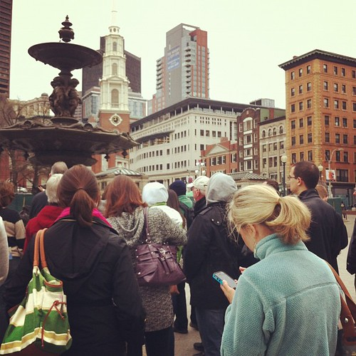 Freedom trail tour with the southern girls