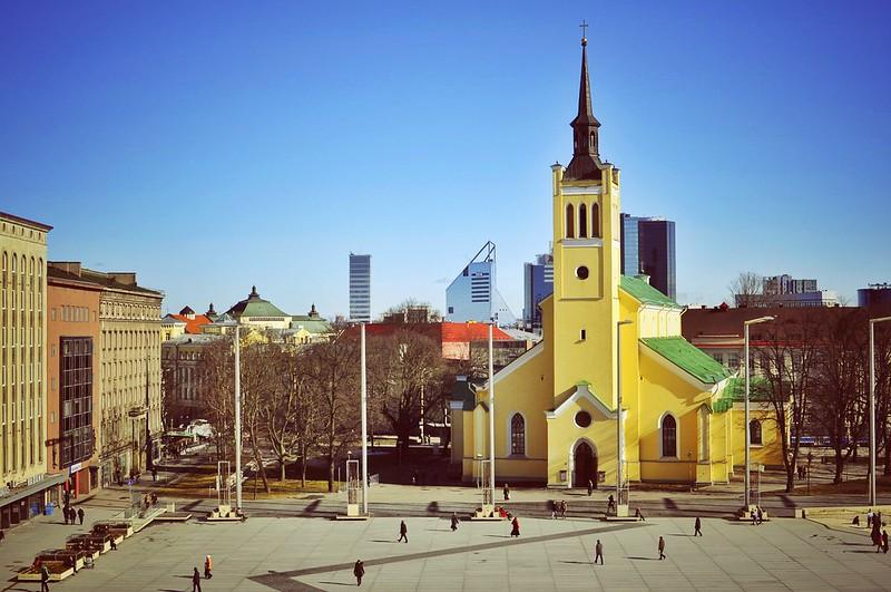 Vabaduse Väljak, Tallinn, Estonia
