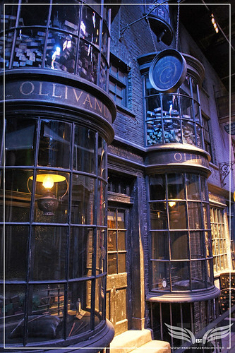 The Establishing Shot: The Making of Harry Potter Tour - Diagon Alley The one & only Ollivanders Wand Shop by Craig Grobler