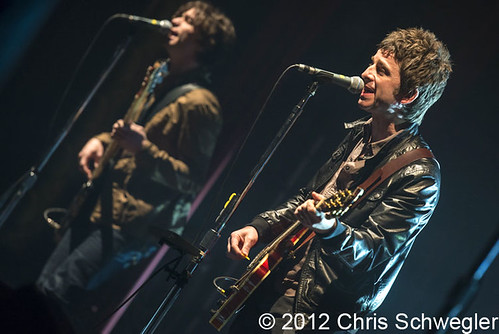 Noel Gallagher's High Flying Birds - 03-31-12 - Royal Oak Music Theatre, Royal Oak, MI