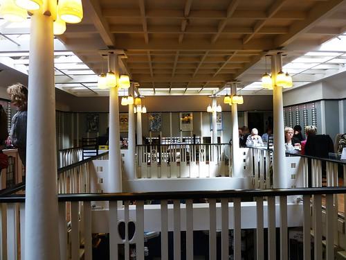Inside Willow Tea Rooms, Sauchiehall Street
