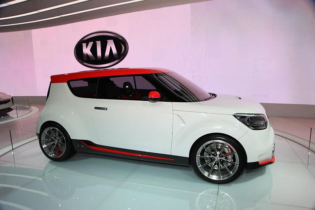 World Hyundai Photos Of New Kia Soul At 2012 Chicago Auto