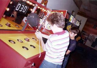 Birthday Party Showbiz Pizza & Wack A Mole 1981