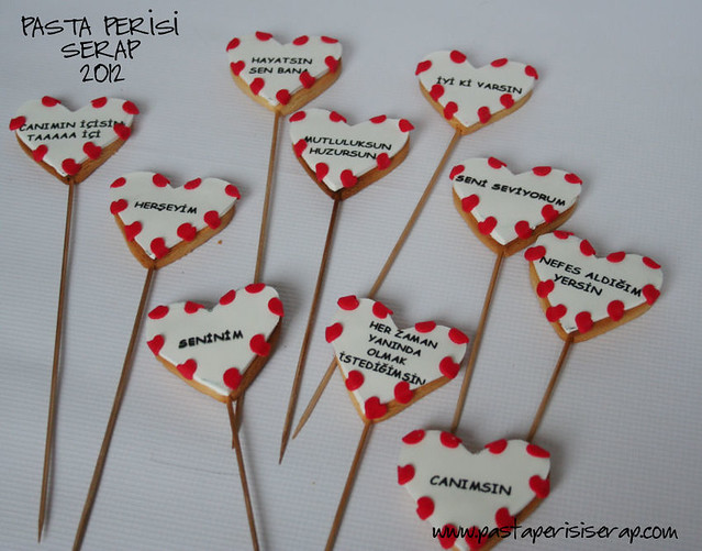 sevgililer günü kurabiye