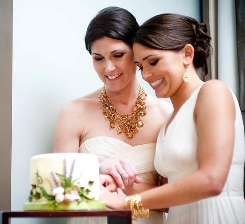 Lesbian Wedding 24