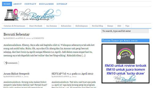 Front Page blog Bardboo