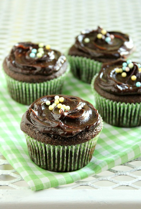 Chocolate Avocado Cupcakes 3