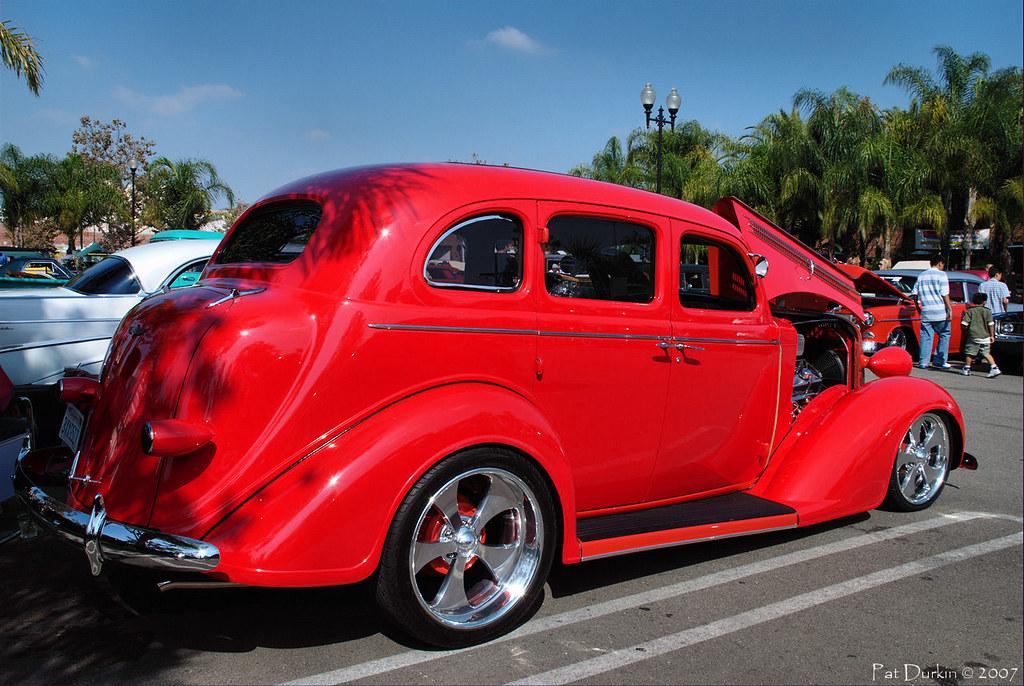 1936 dodge 4 door sedan red rvr 2 a photo on flickriver for 1936 dodge 4 door sedan