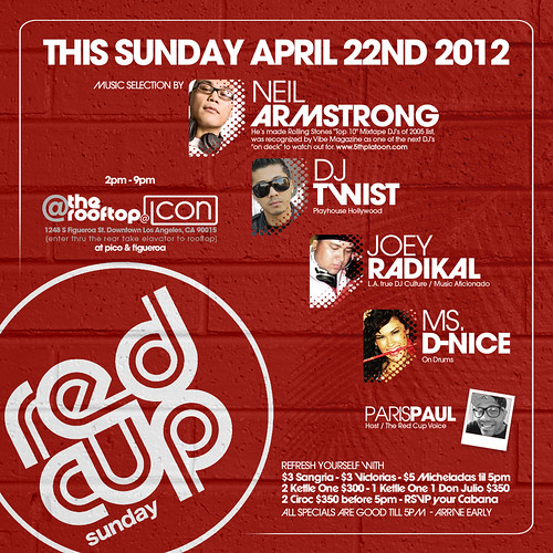 Red Cup Sundays