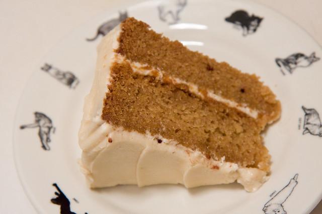 Vanilla cake, Blossom Bakery