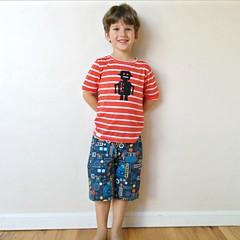 banyan tee and KID shorts