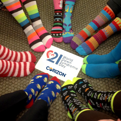 Corizon Team Members Recognize World Down Syndrome Day