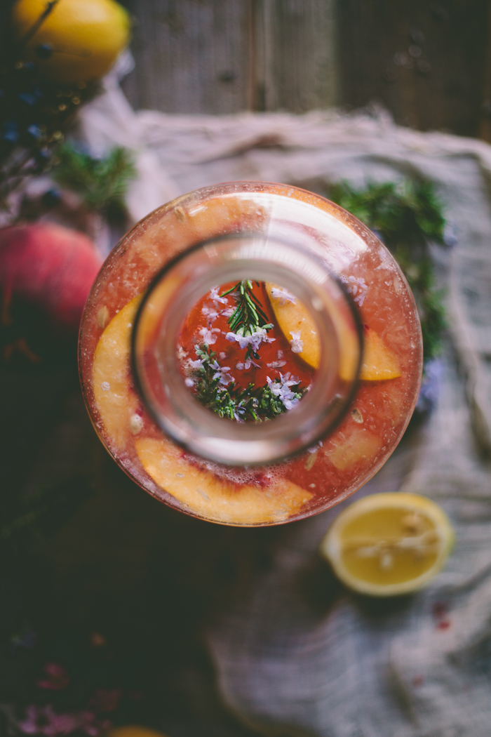 An Edible Flower Workshop: Peach & Rosemary Blossom Lemonade, Roasted ...
