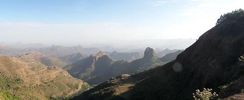 Atemberaubende Aussicht im Simien-Gebirge