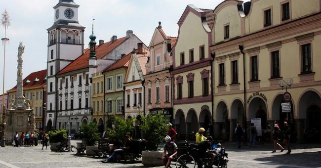 Poznej světové dědictví UNESCO v Třeboni