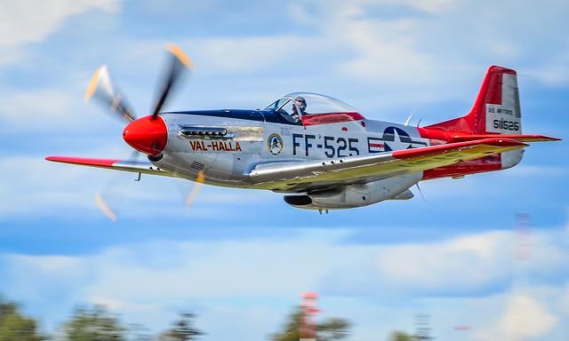 "P-51 Mustang ""Val-Halla"" Heritage FLight Museum"