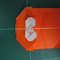 การพับกระดาษเป็นรูปปลาทอง (Origami Goldfish) 016