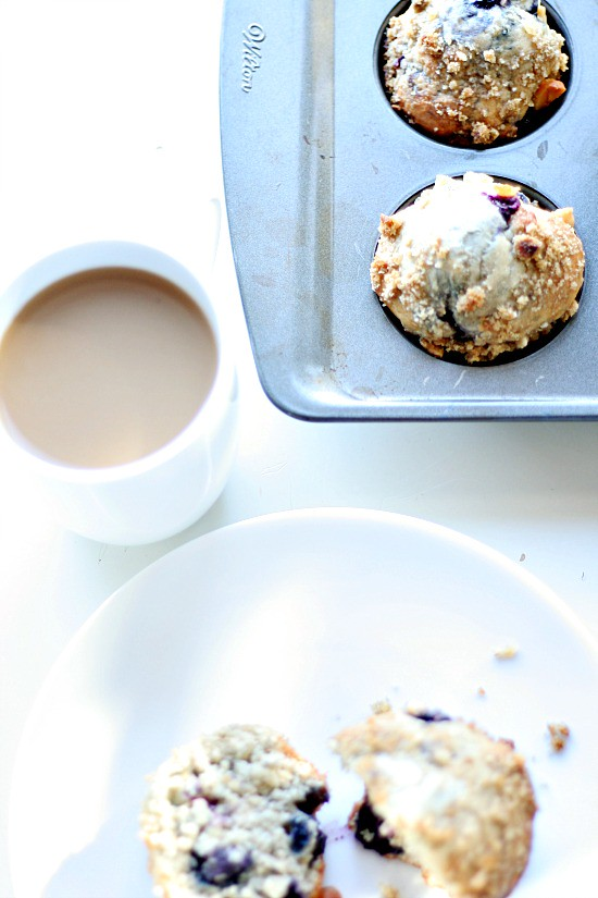 Blueberry Macadamia Nut Muffins