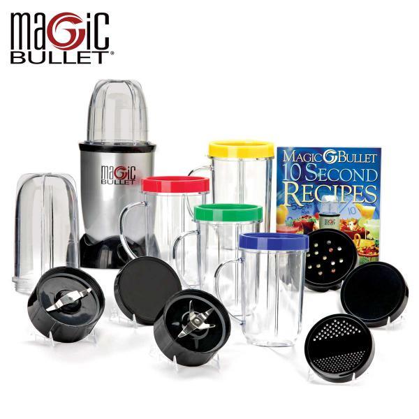 The Amazing 21pcs Multipurpose Magic Bullet Food Processor | Lazada Malaysia