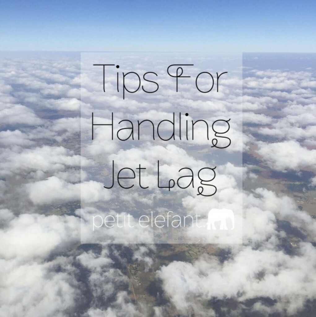 Tips for Handling Jet Lag