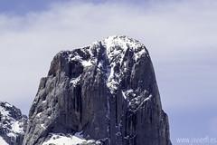 La cumbre del Picu Urriellu