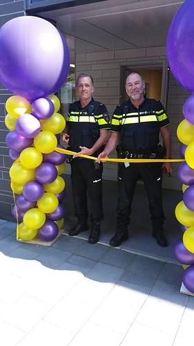 Ballonpilaar Breed Rond Opening Buurthuiskamer Zuidwest Spijkenisse
