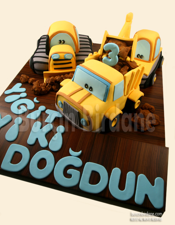 Construction Pals Cake