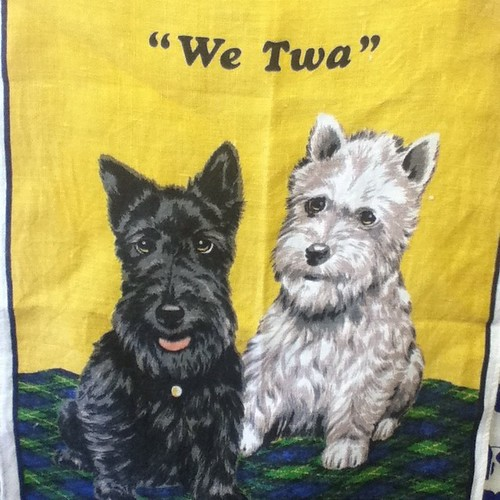 Thrifted teatowel