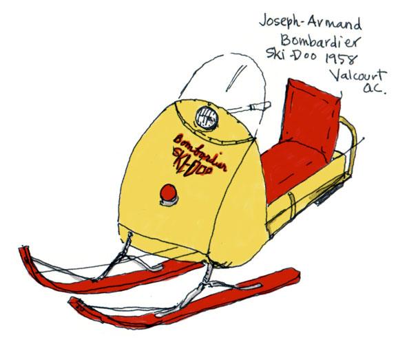 Early model Ski-Doo