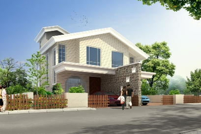 Teak County B Type 2 BHK Semidetached Bungalow for Rs. 33 Lakhs