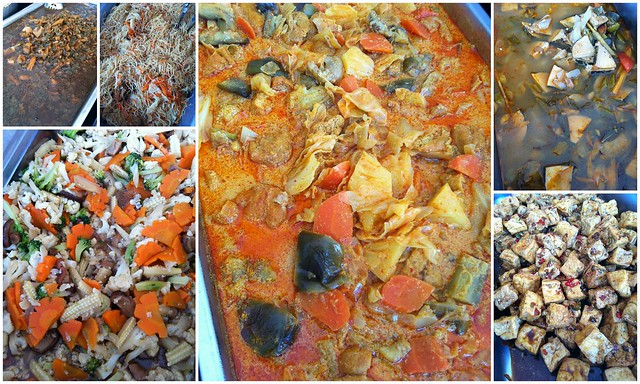 Tzu Chi vegetarian foods