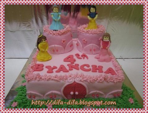 Princess Cake for Byancha by DiFa Cakes