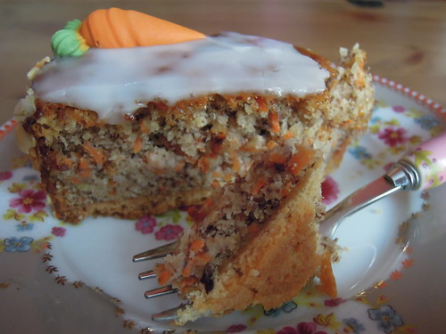 Carrot Hazelnut Cake