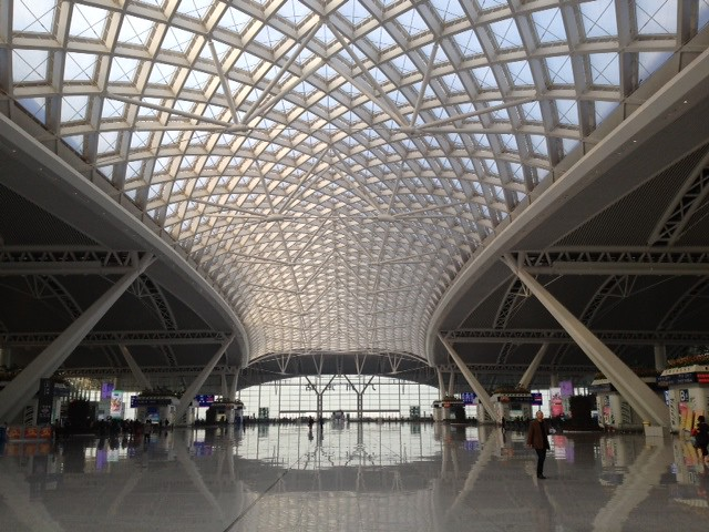 Train station, Guangzhou, China