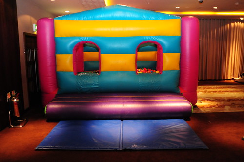 Bouncy castle at thinkvis
