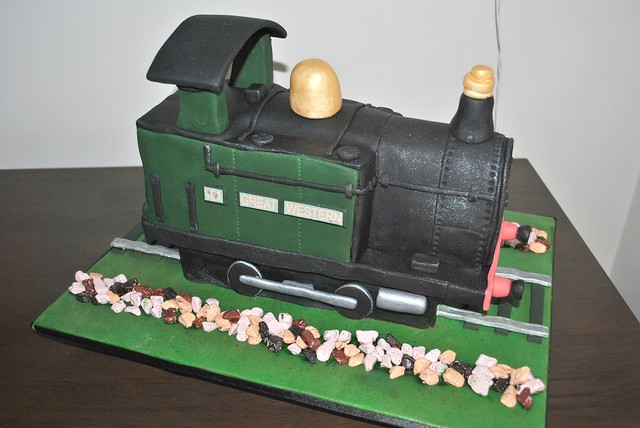 Steam Train Cake Flickr - Photo Sharing!